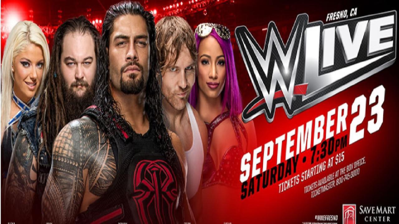 WWE comes to the Save Mart Center this Saturday, John Cena vs. Bray Wyatt showcase event