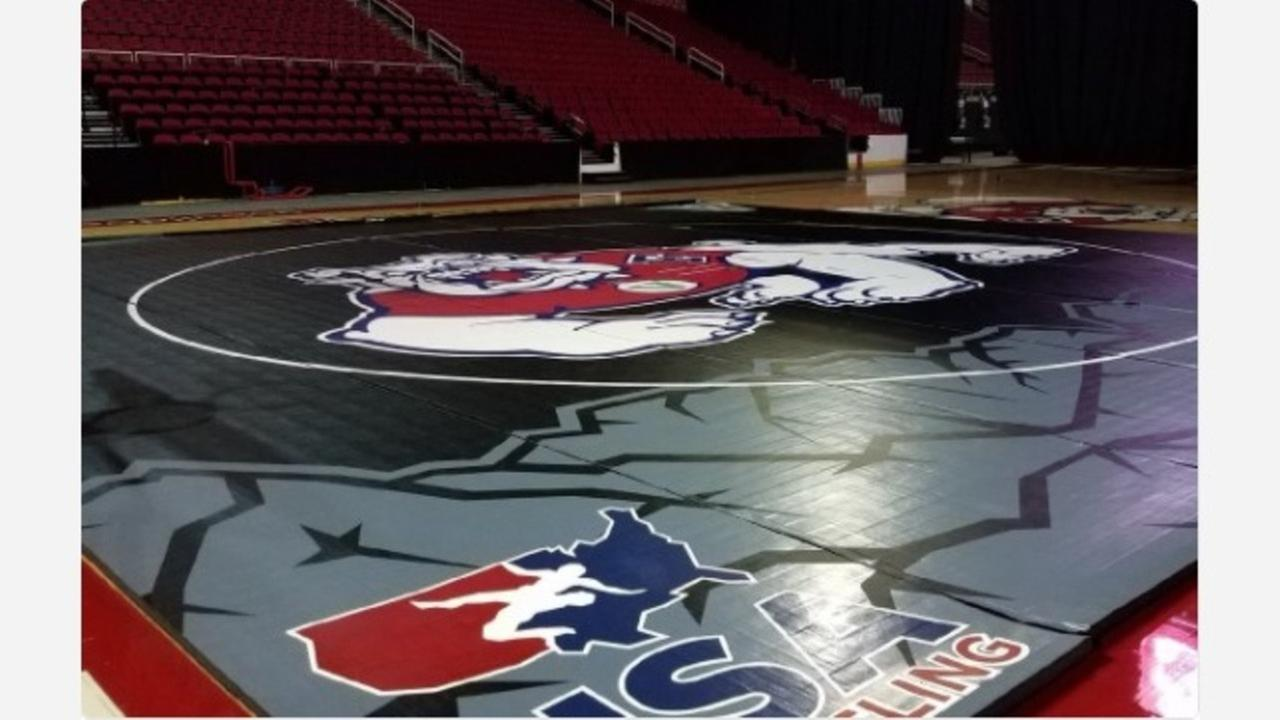 Fresno State Wrestling mat revealed for first time