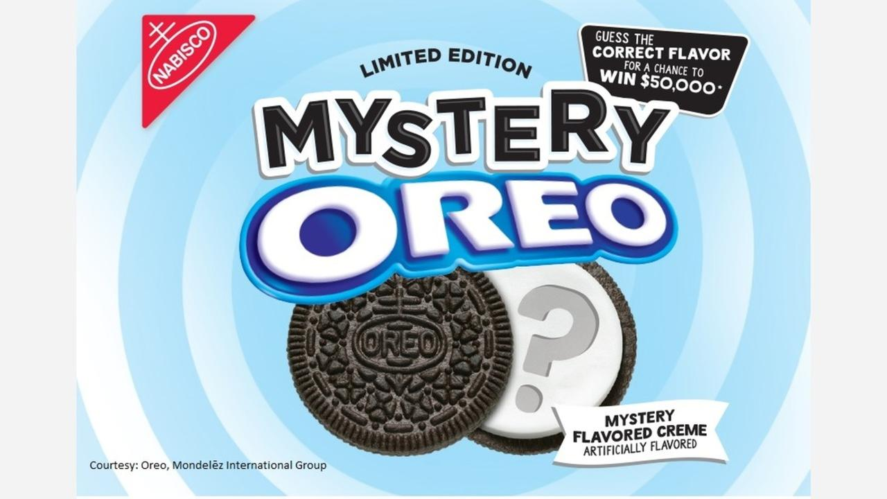 A contest with a mystery twist, guess the Oreo flavor and you could win $50,000