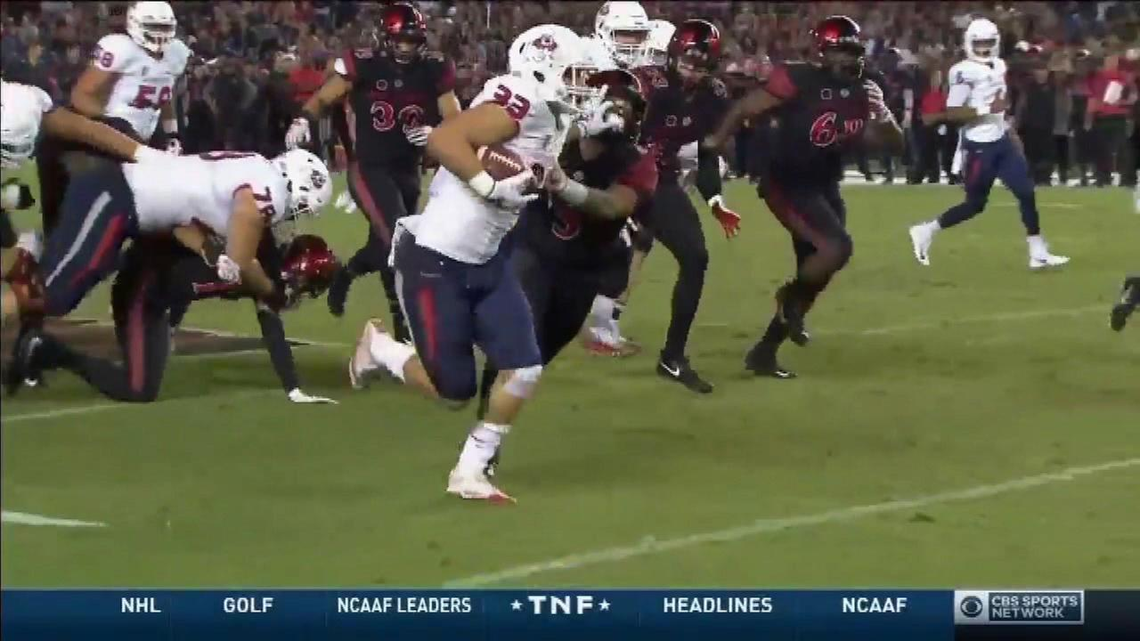 Fresno State wins 4th game in a row, defeat San Diego State 27-3