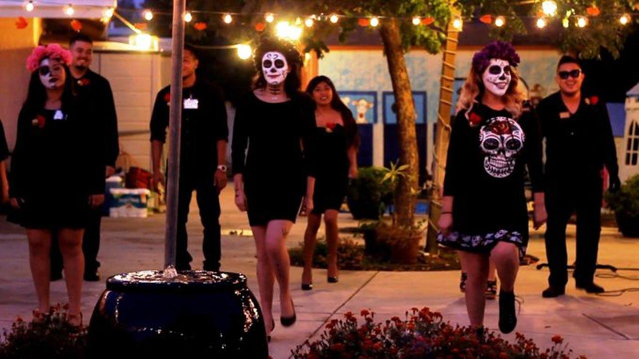 Celebrating Dia de los Muertos, Day Of The Dead