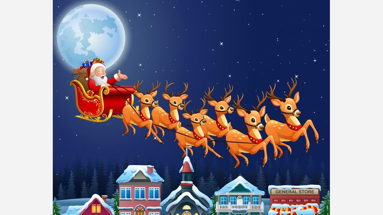 Air Force retracts tweet's Santa clause: He's real after all