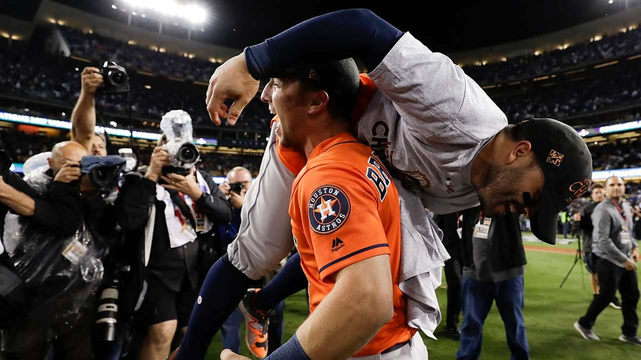 Astros beat Dodgers in game 7: Win first World Series title