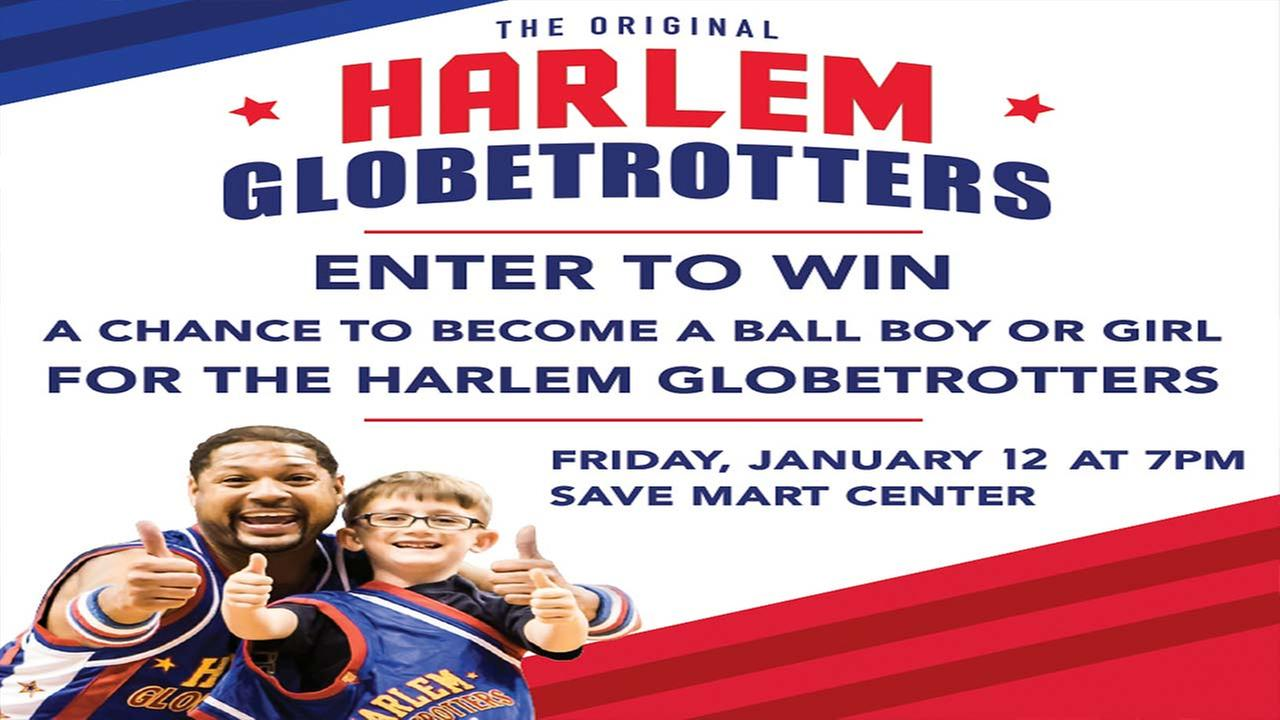 Harlem Globetrotters Ball Boy/Ball Girl Contest