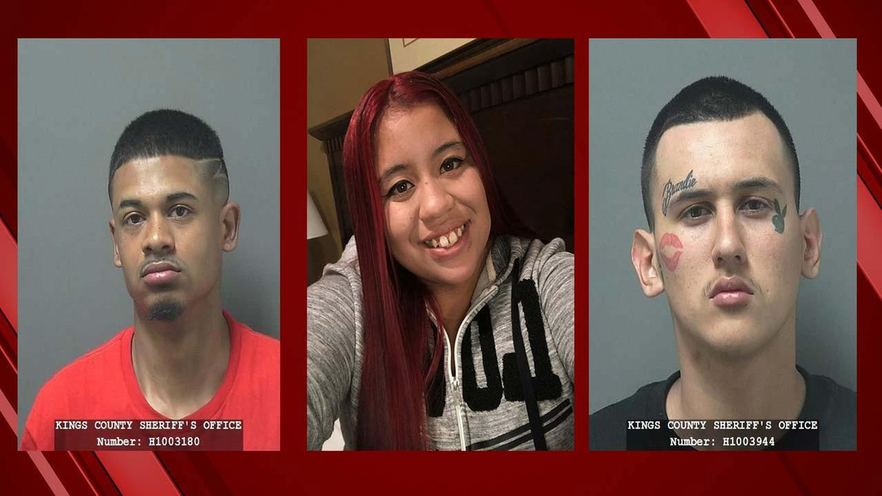 Hanford Police are looking for these three people