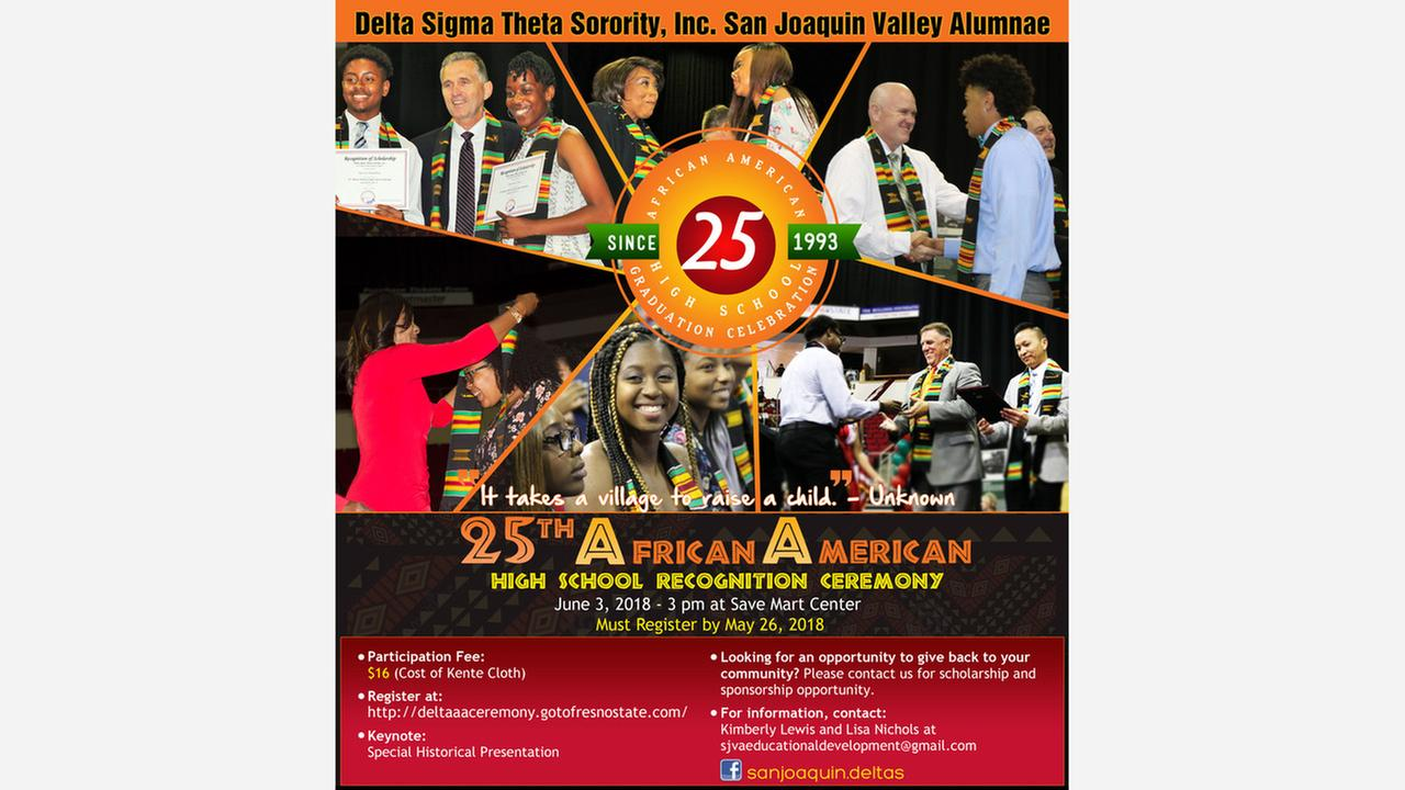 Sign up for the African American High School Recognition Ceremony
