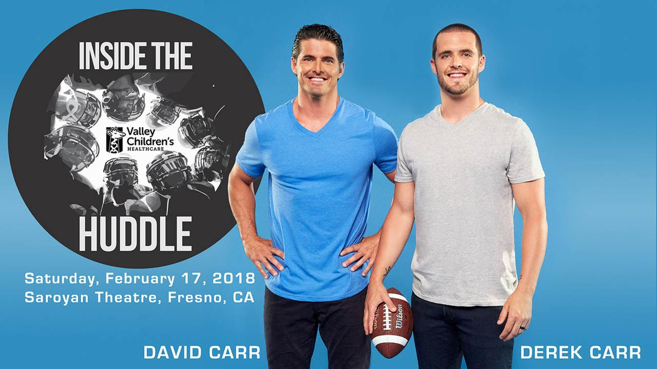 Inside the Huddle with Derek Carr