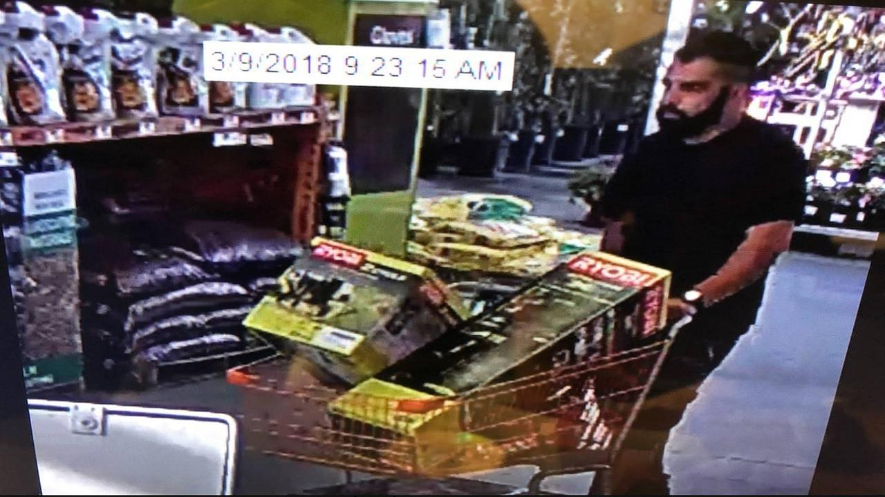 Merced Police say he walked into Home Depot and stole $956 worth of goods
