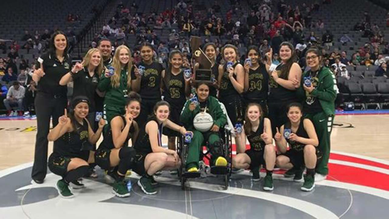 Sierra Pacific Girls Basketball wins State Championship