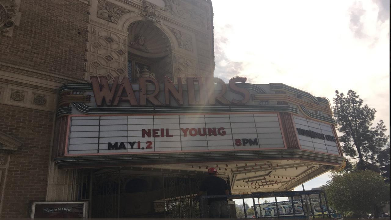 Neil Young and Crazy Horse announce 3 Fresno shows at the Warnors Theatre