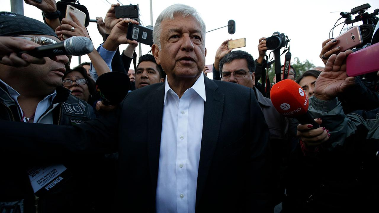 Mexico's Lopez Obrador on brink of historic presidential win