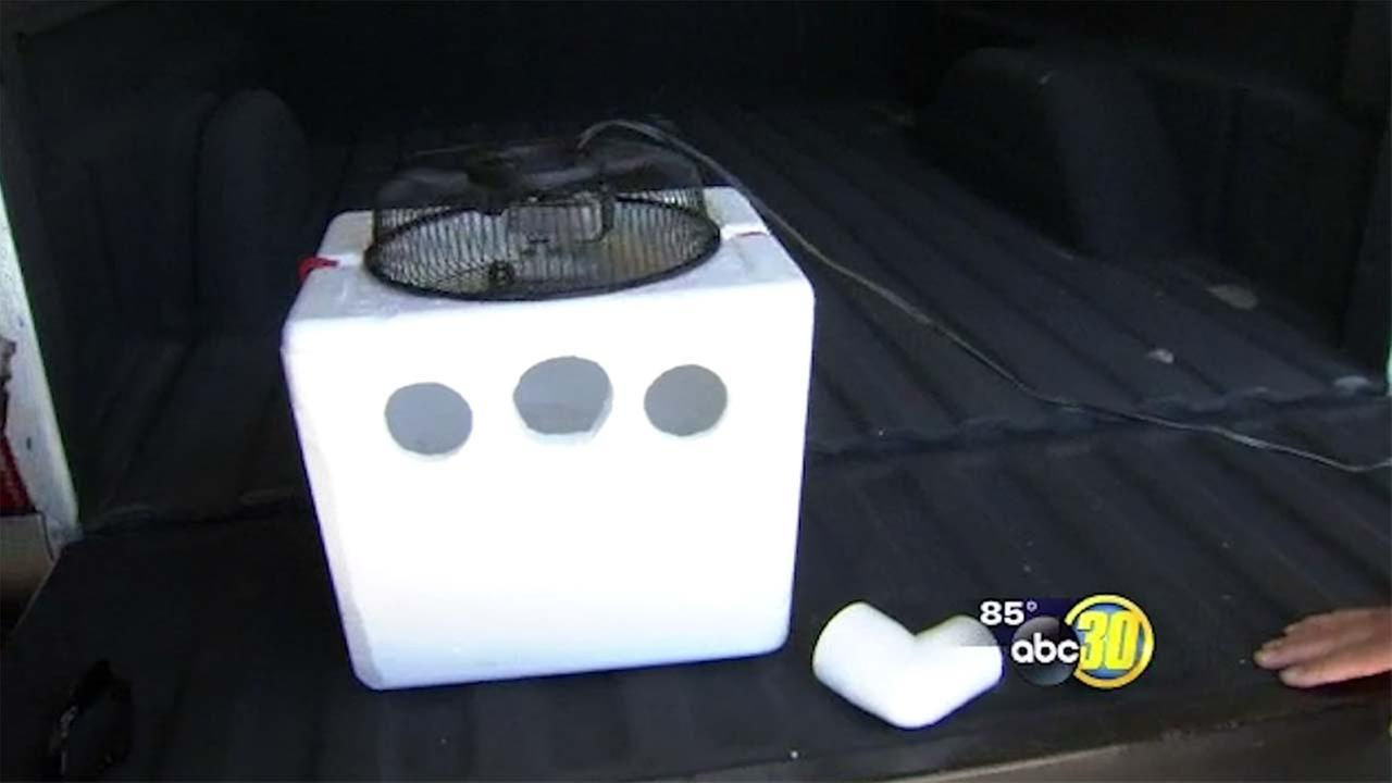 Diy Make A Homemade Air Conditioner For Around 8 Abc13 Com