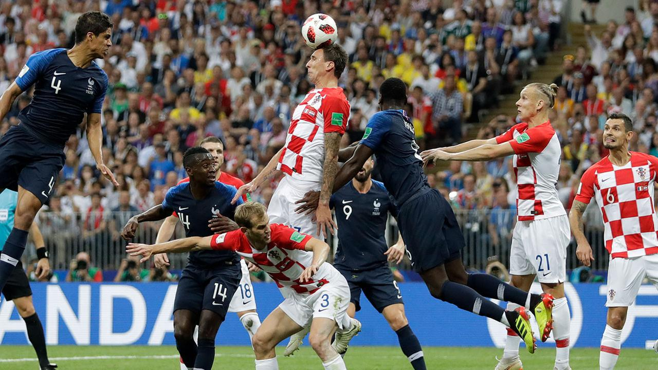France wins 2018 World Cup after defeating Croatia 4-2