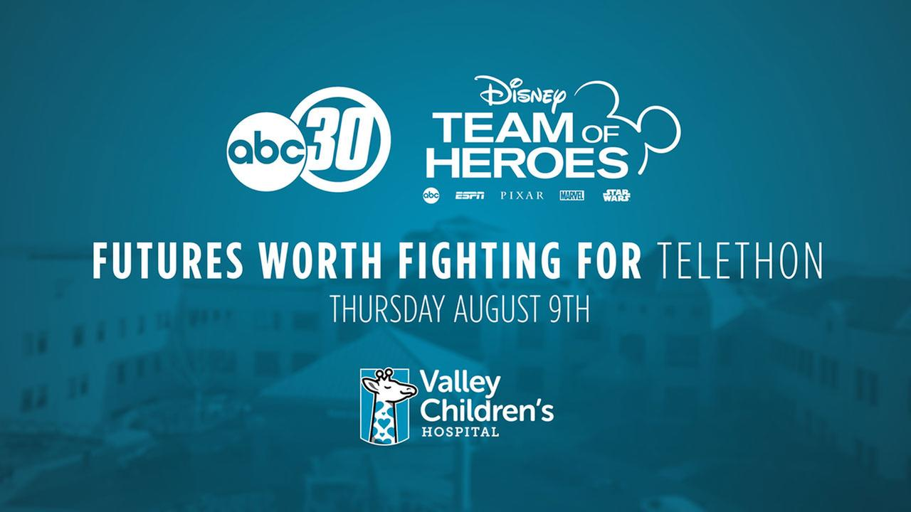 Futures Worth Fighting For Telethon benefiting Valley Children's Hospital