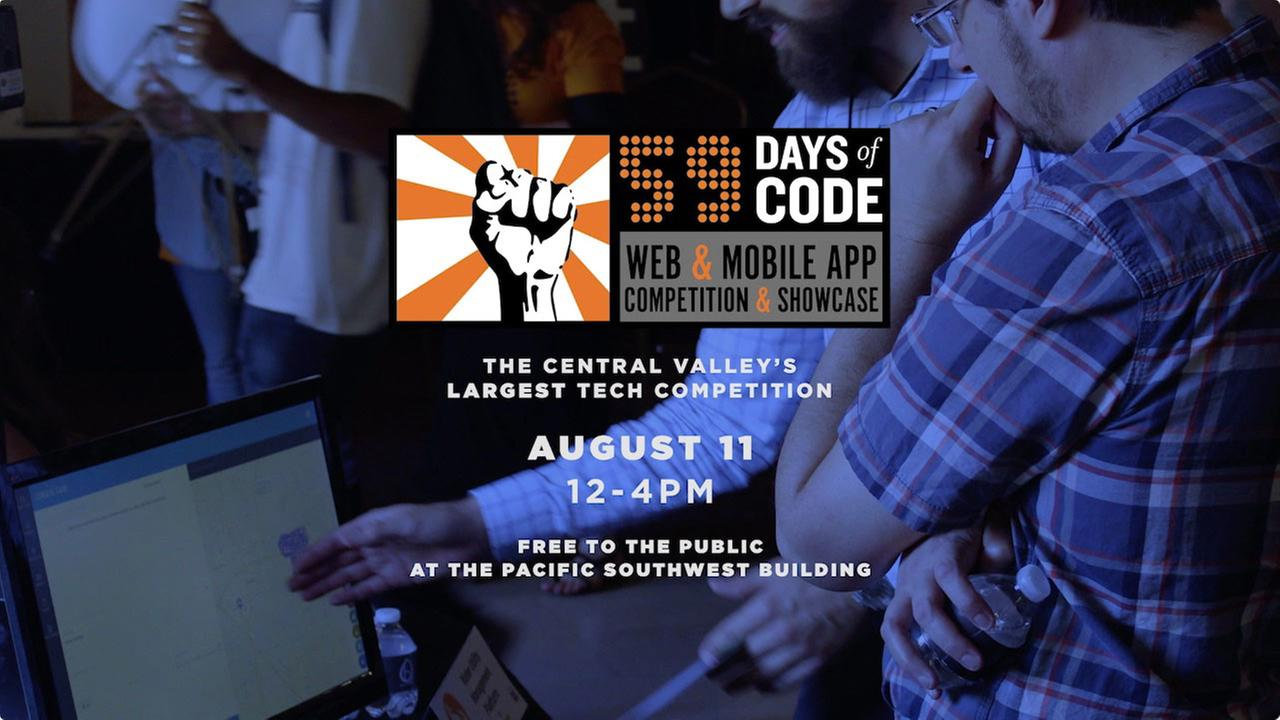 59 Days of Code: The Expo