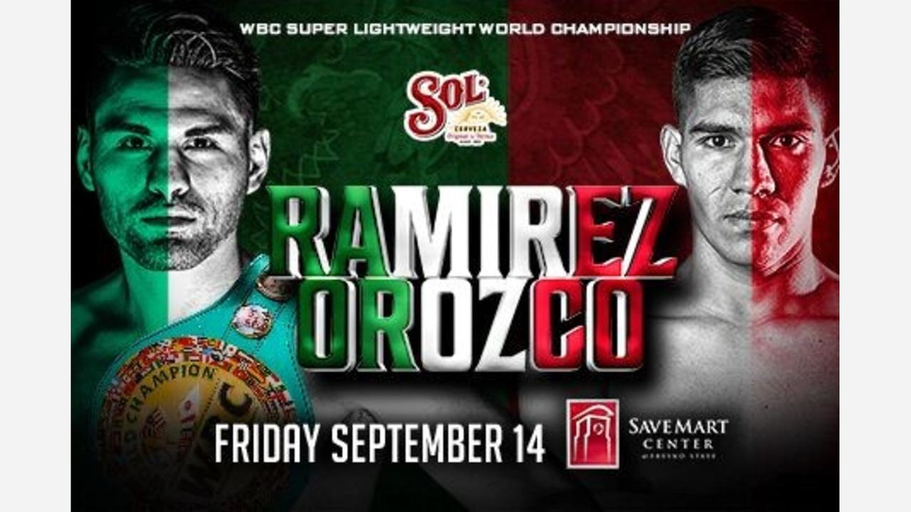 Avenal's Jose Ramirez to defend title at Save Mart Center in September