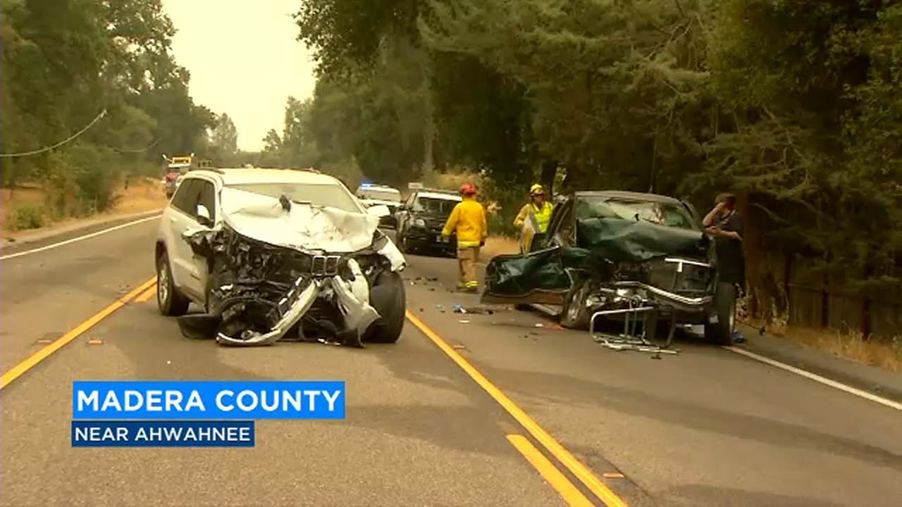 Second person dies after crash involving Forest Service vehicle on Hwy 49 in Madera County