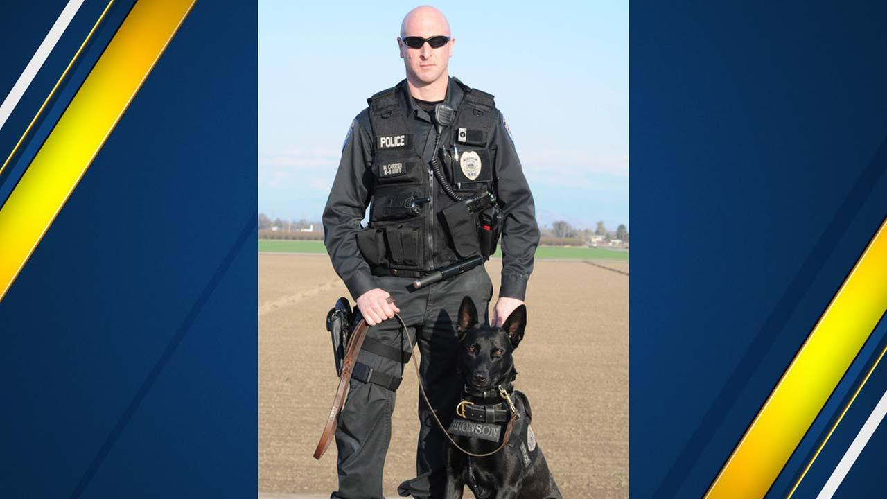 Visalia PD K-9 retiring from force after 6 years