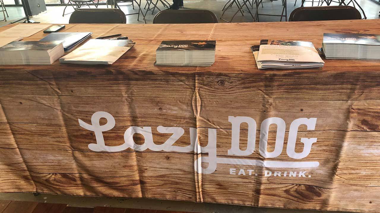 Lazy Dog restaurant looking to hire