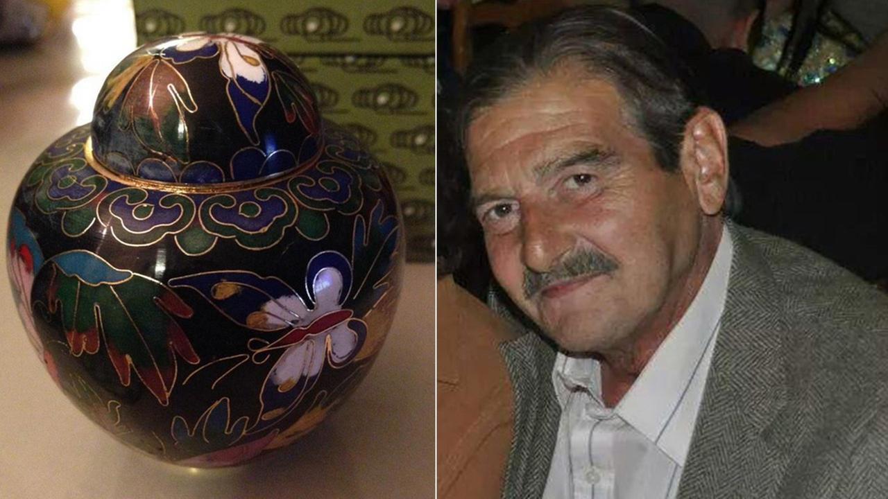 stolen urn