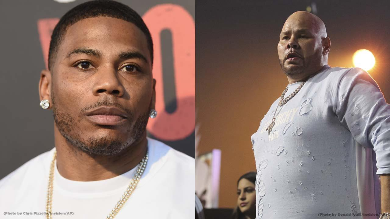 Nelly and Fat Joe concert canceled due to schedule conflict