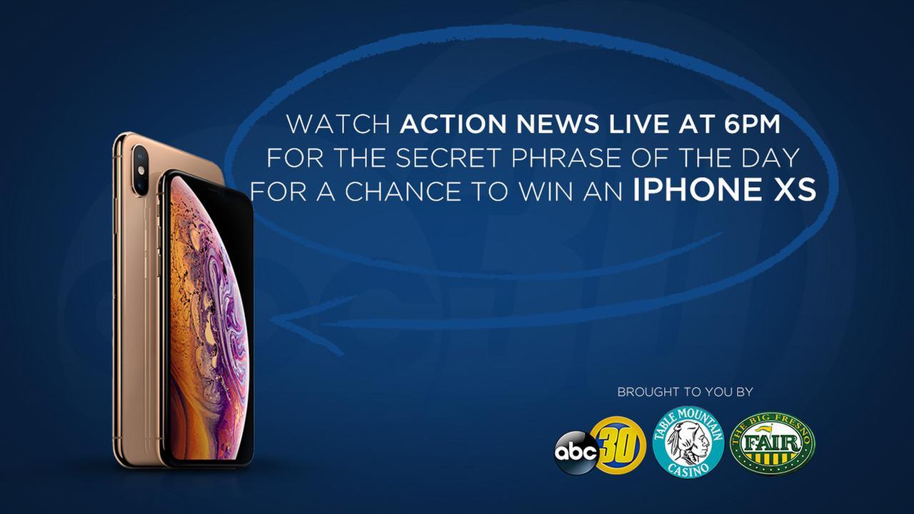 Watch & Win an iPhone XS!