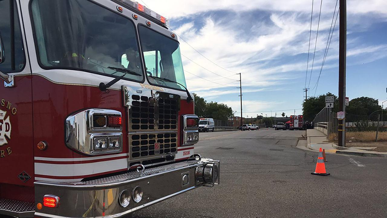 Fresno Fire cleaning up chemical spill in Southeast Fresno