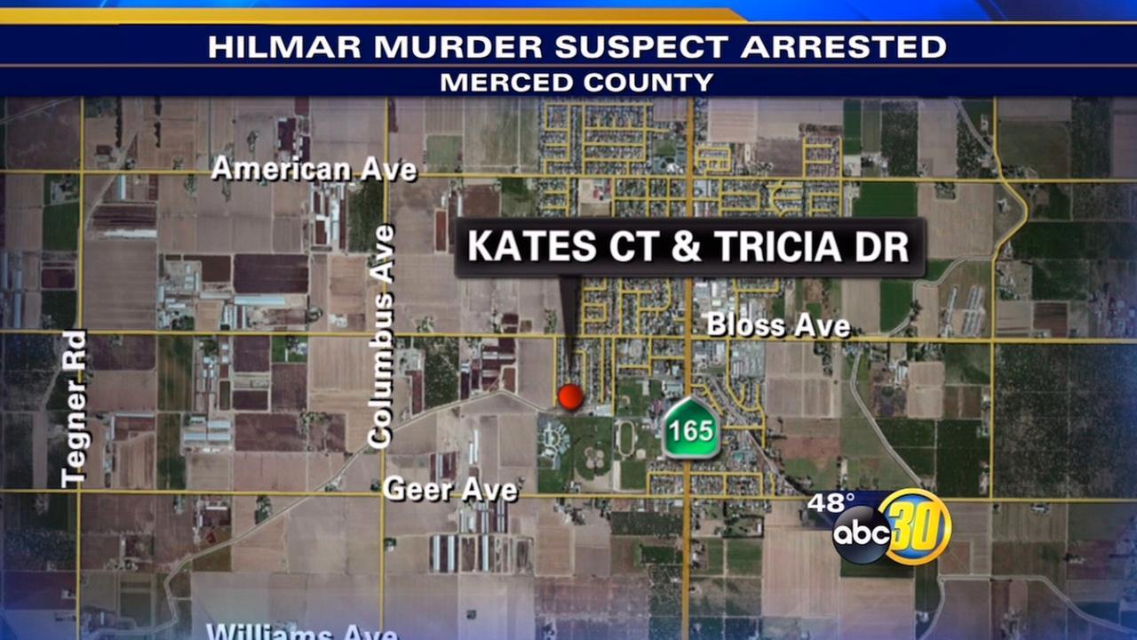 Suspect arrested in Hilmar murder