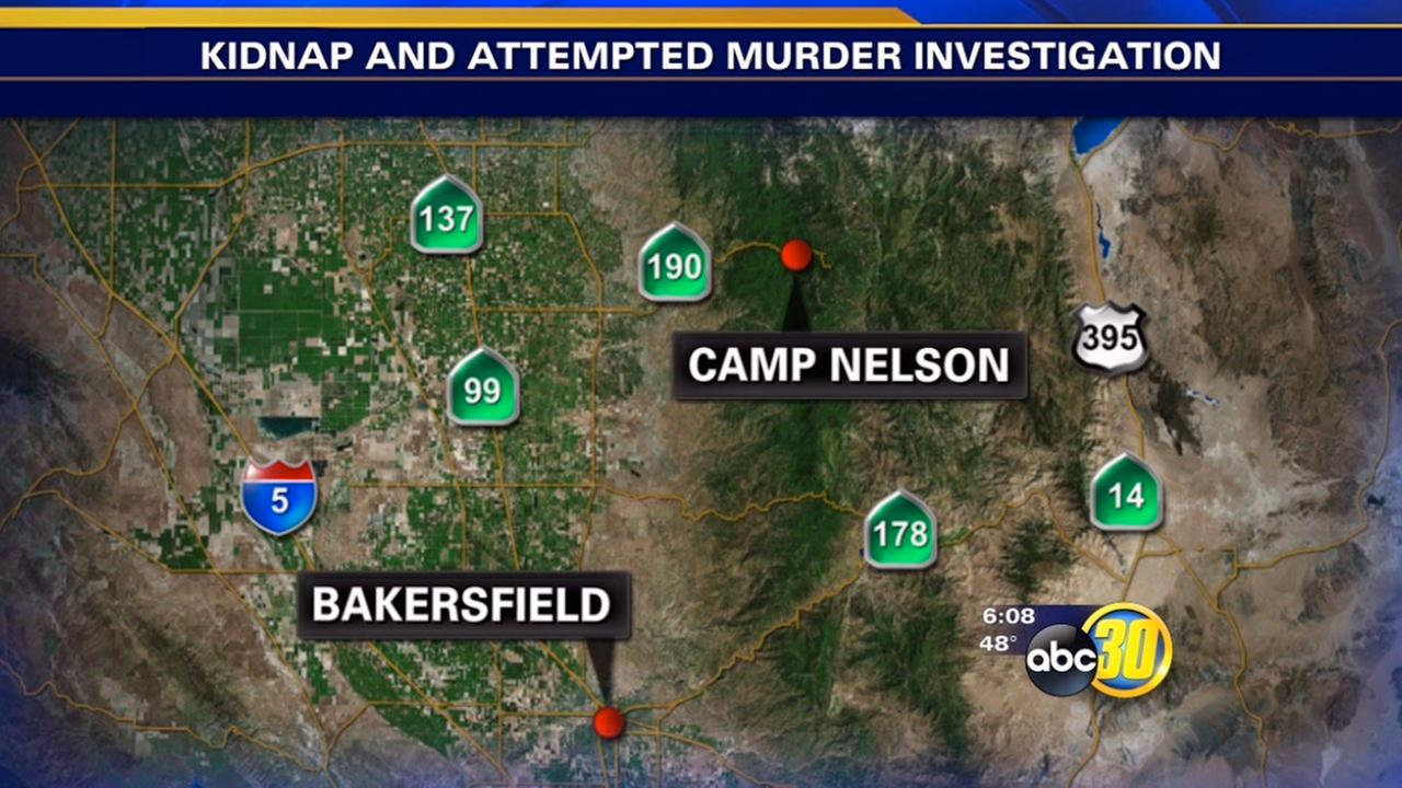 Son stabbed after he and mom get ride from 2 men, stop near Camp Nelson