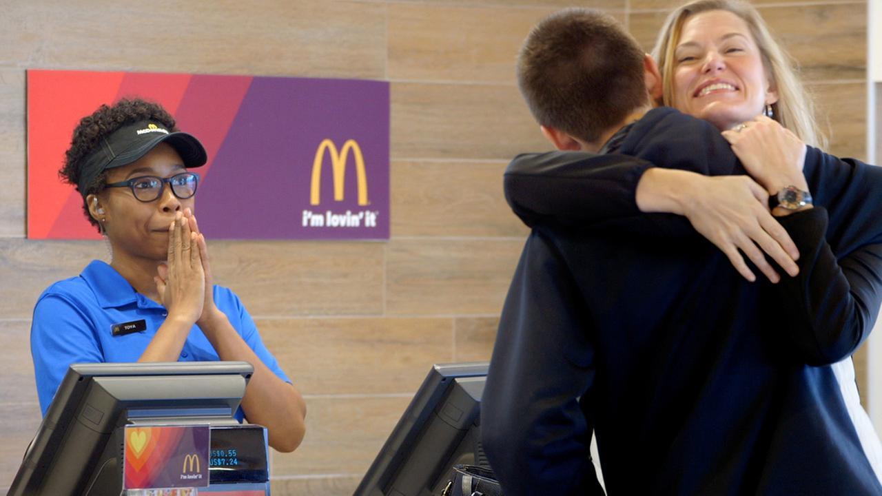 McDonalds Pay With Lovin