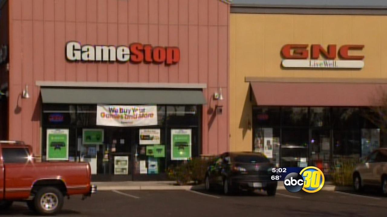 Armed robber hits Visalia GameStop