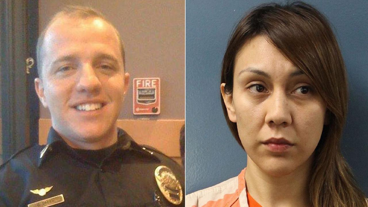 Exeter Police Officer Daniel Green and ex-wife Erika Sandoval