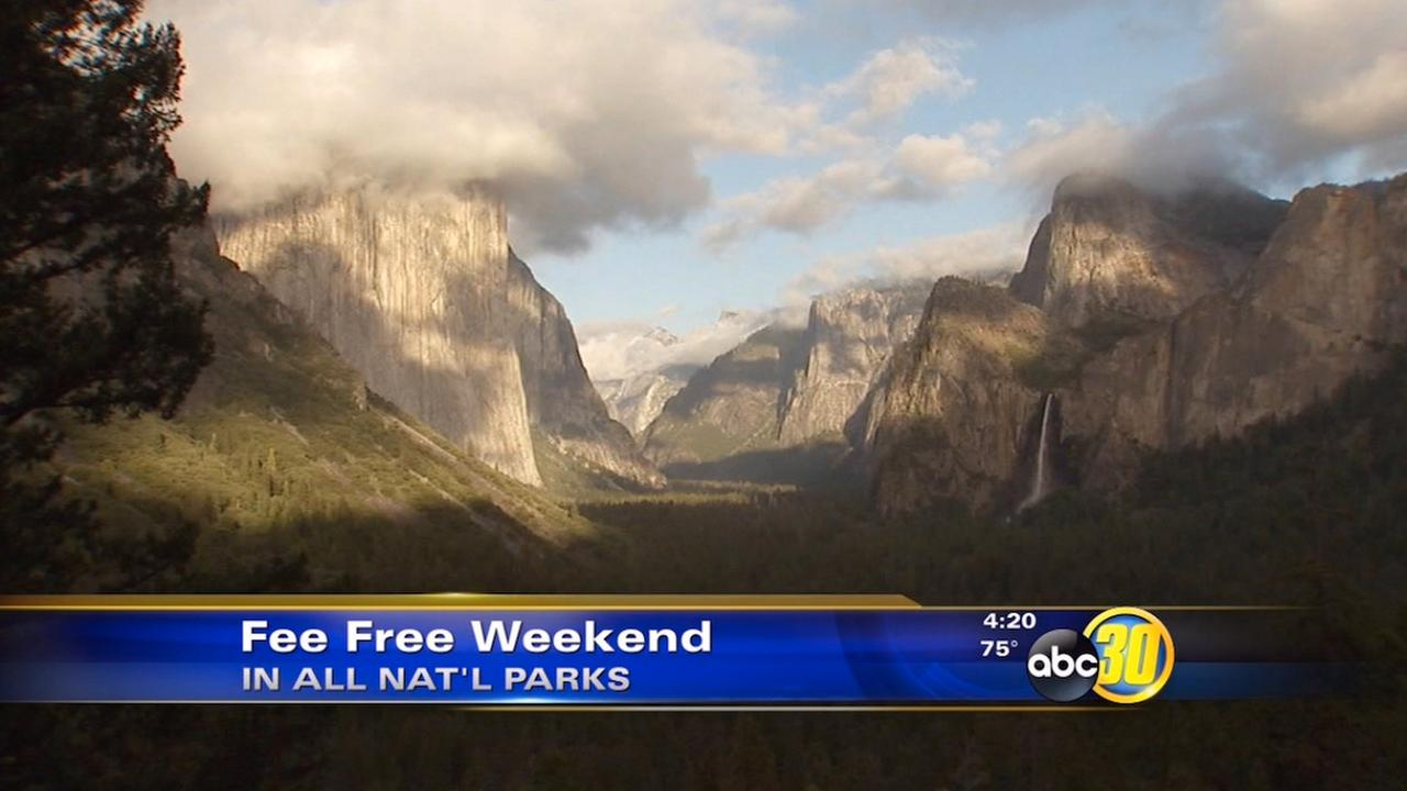 National parks offer free admission for Presidents Day weekend