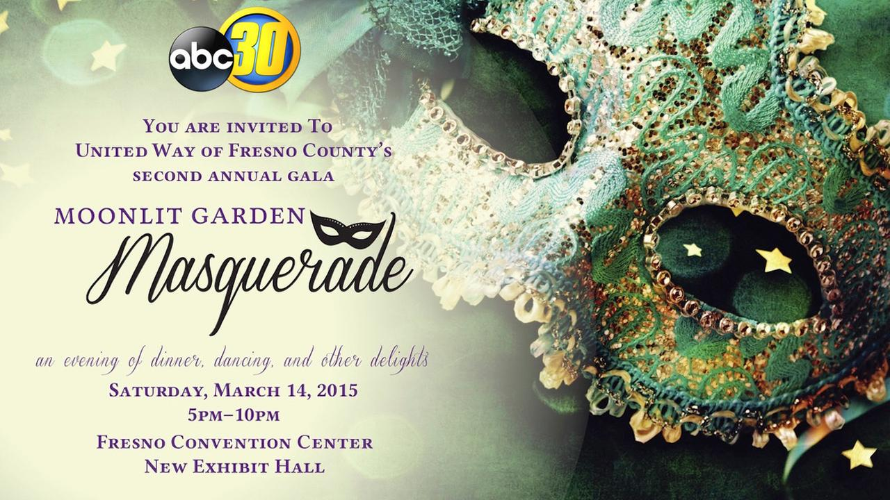 You're Invited to the United Way's Moonlit Garden Masquerade