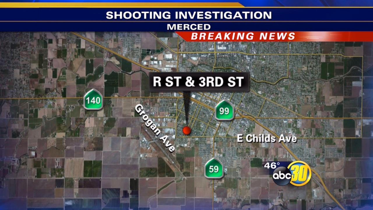 Merced shooting sends woman to hospital