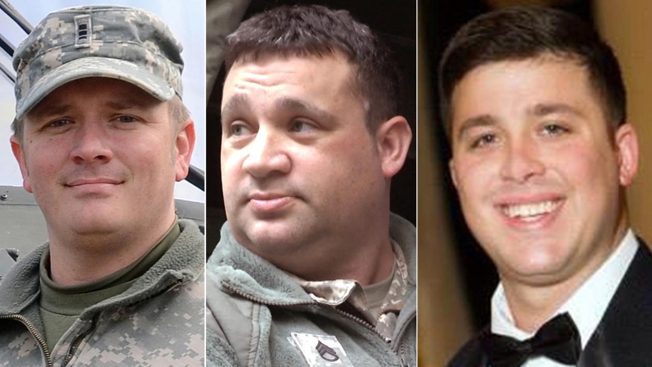 Names of Guardsmen killed in helicopter crash released