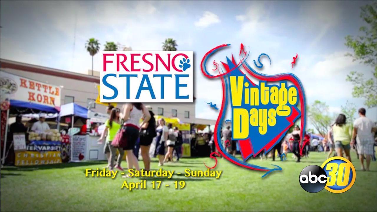 Family Fun at Fresno State's Vintage Days