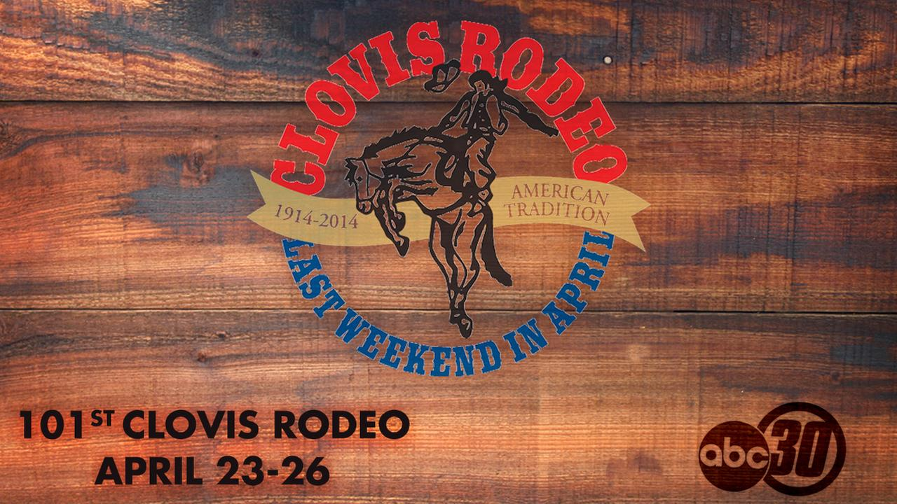 Join ABC30 at the 101st Clovis Rodeo