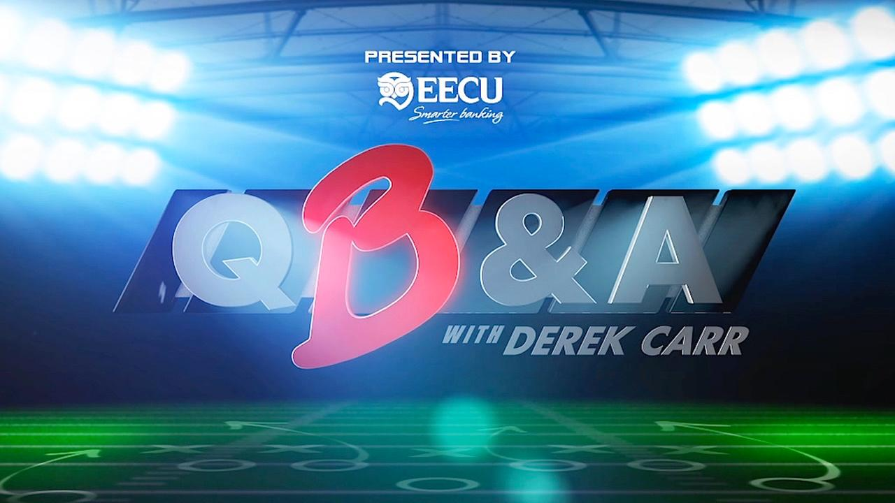 Official Contest Rules for QB&A with Derek Carr Viewer Questions