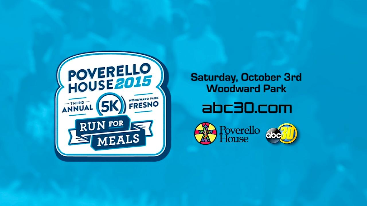Run for Meals with ABC30 and Poverello House
