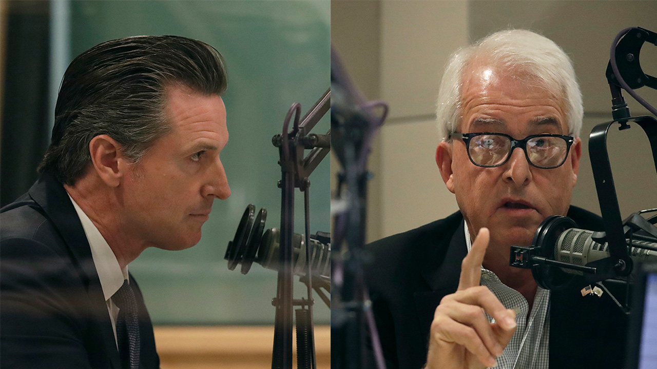 Republican John Cox attempted to lay Californias high cost of living at the feet of Democrat Gavin Newsom during a debate Monday.