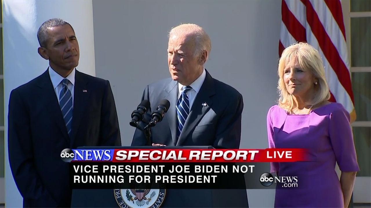Biden announces he wont run for president