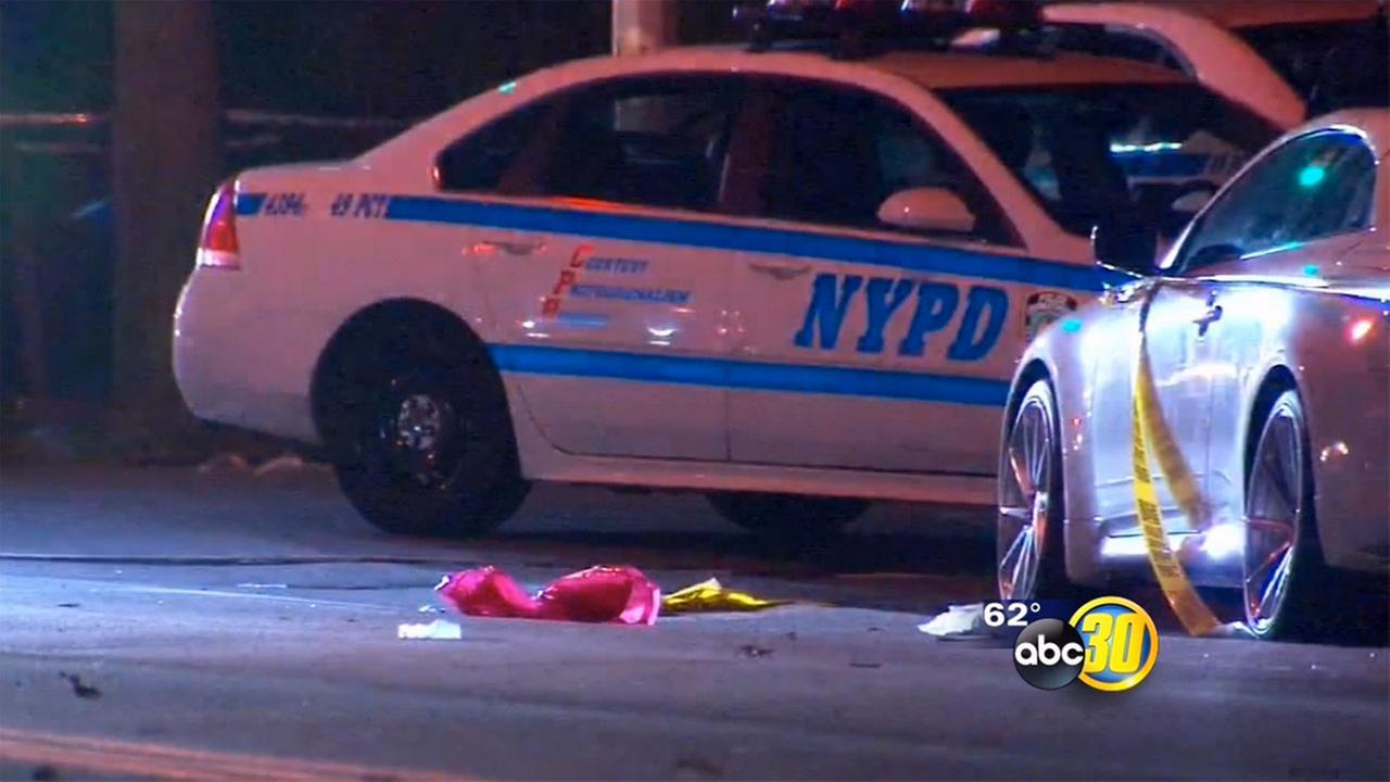 Cops: 3 dead, 4 hurt when car hits trick-or-treaters in NYC