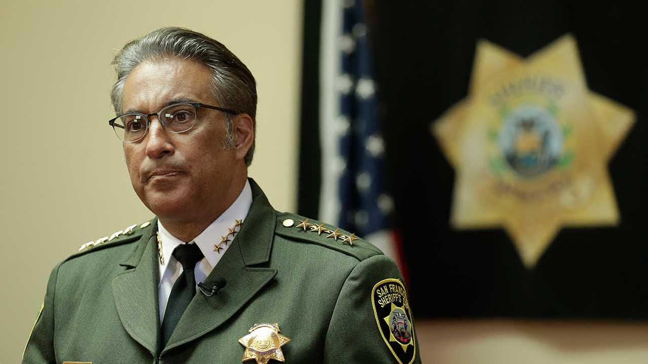 In this Monday, July 6, 2015, file photo, San Francisco Sheriff Ross Mirkarimi fields questions during an interview in San Francisco.