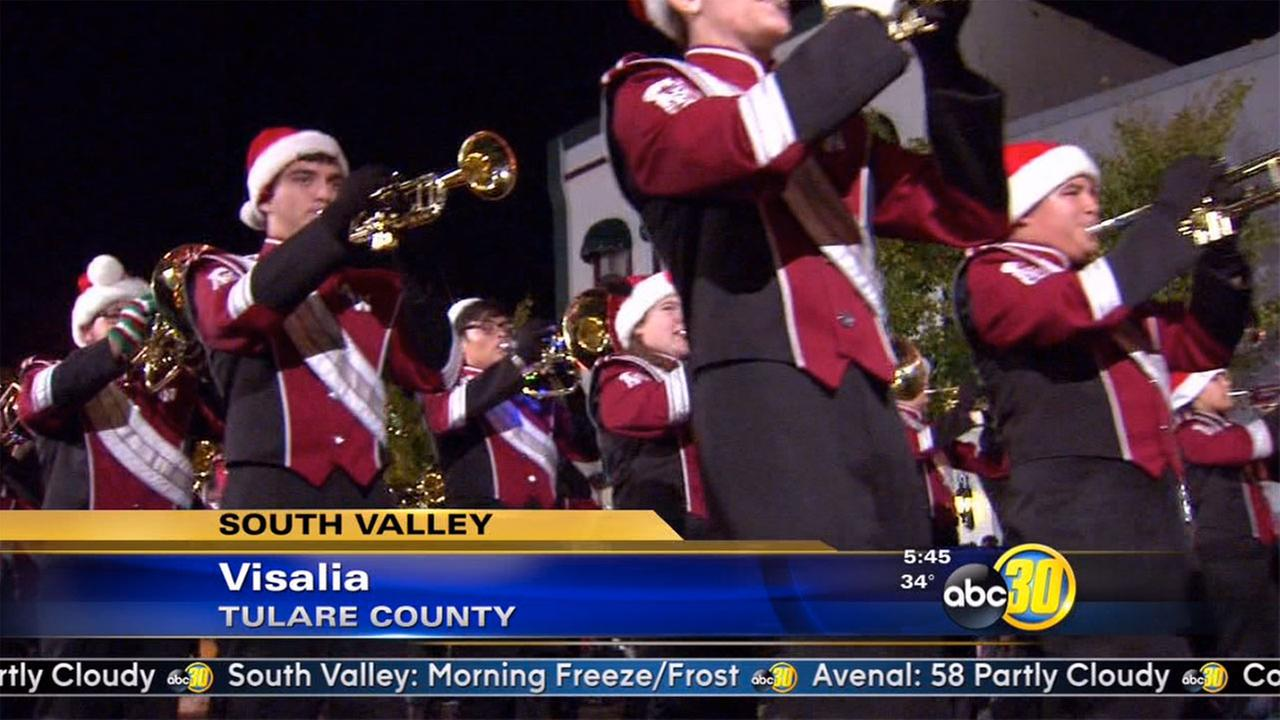 Candy Cane Lane Parade will soon fill the streets of Visalia