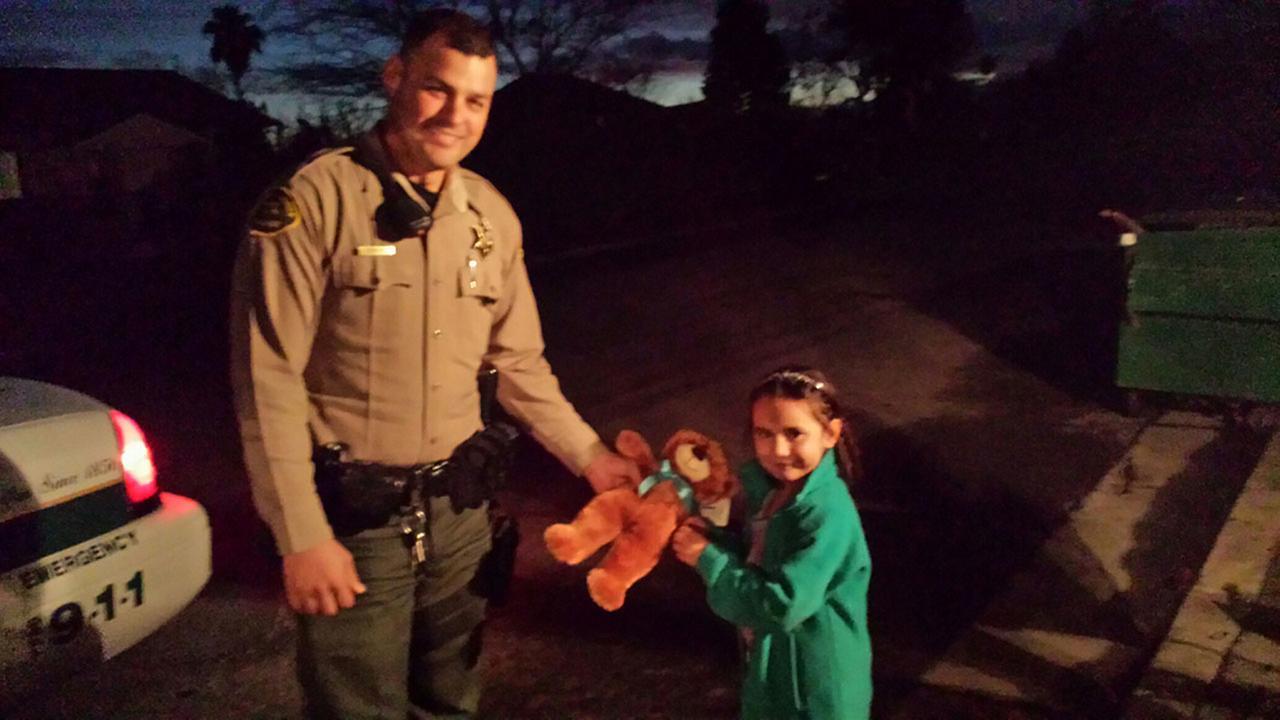 Deputy Josh OBar and Naomi