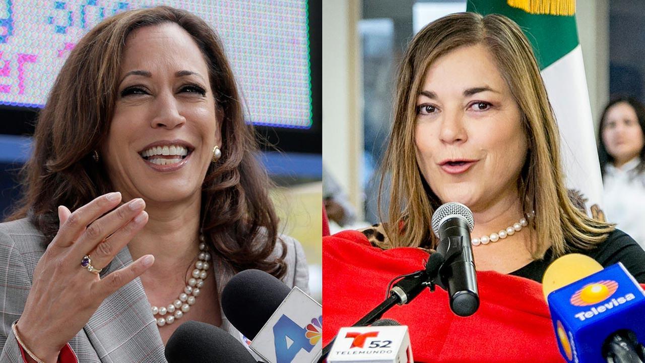 Democrat Kamala Harris (left), Democrat Loretta Sanchez (right)