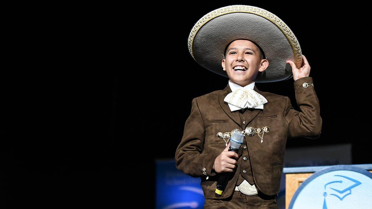 "Hamilton Eighth-Grader Makes Himself Heard on ""La Voz Kids"""