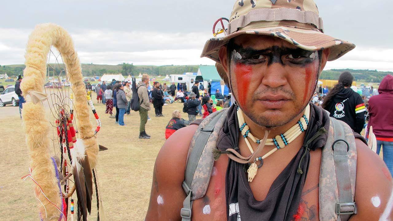 South Dakotas Cheyenne River Sioux Tribe protest