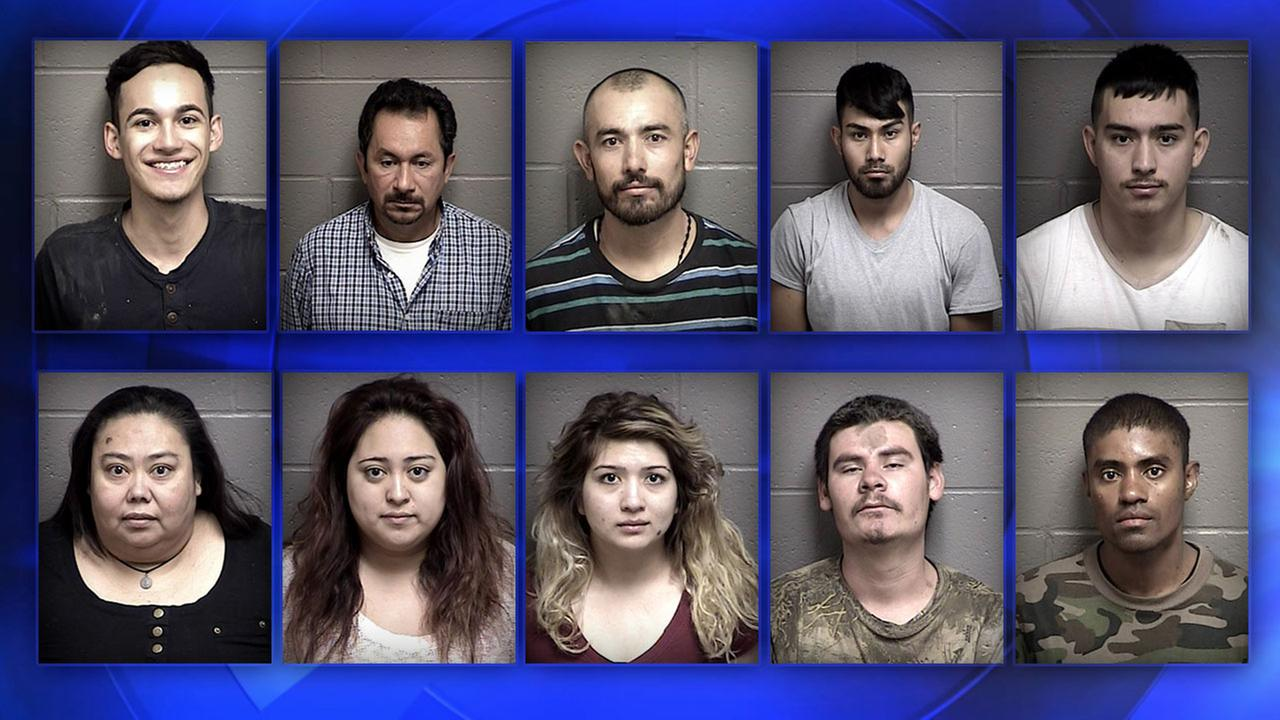 Mariposa pot bust leads to the arrest of 10 people